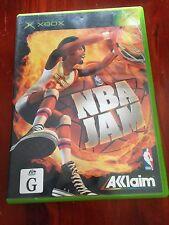 NBA Jam Xbox Original Game