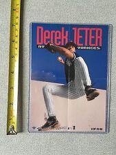 1998 FLEER SPORTS ILLUSTRATED DEREK JETER MNI-POSTER NEW YORK YANKEES