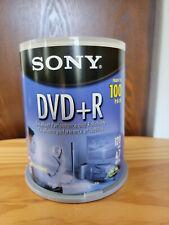Sony DVD+R Blank Media Approx 90