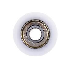 New 8*30*10mm U Groove Metal Shield Nylon Pulley Wheels Roller Ball Bearings GD