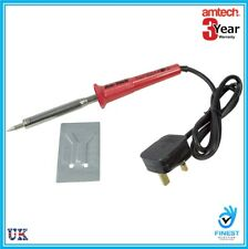NEW 60w Soldering Iron 240V - 3 Pin BS Plug Am-Tech - S1725