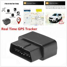 Car OBD GPS GPRS Locator Tracker Anti-theft Tracking Voice Monitor LED Indicator