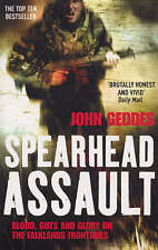 Spearhead Assault: Blood, Guts and Glory on the Falklands Frontlines, Geddes, Jo