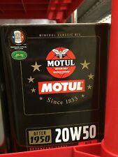 Motul Classic Mineral 20W50 - 2L