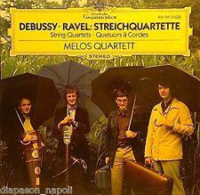 Debussy, Ravel: String Quartets (Quartetti Per Archi) / Melos Quartet - CD