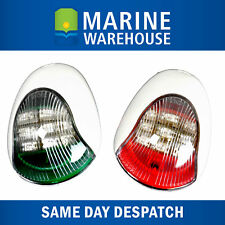 Vigil LED Navigation Lights Pair White - Nav Port Starboard High Qaulity 705152W