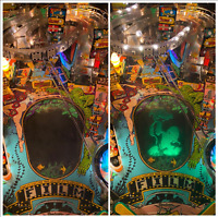 Bally Creature from the Black Lagoon Pinball Hologram Replacement Kit
