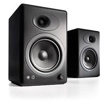 Audioengine A5+ Black Premium Powered Bookshelf Speakers (Pair)