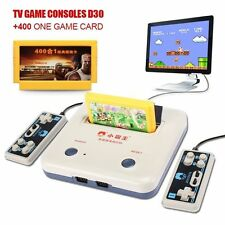 TV Video Game Console 8 Bit Games Vintage Retro Gamepads With 400 in 1 Cartridge