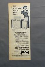 PUB PUBLICITE ANCIENNE ADVERT CLIPPING 150517 / MACHINE A LAVER JAPY MOD 404 204