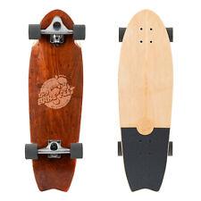 """Two Bare Feet Madeira 31"""" Canadian Maple Surfskate - Fishtail Cruiser Skateboard"""
