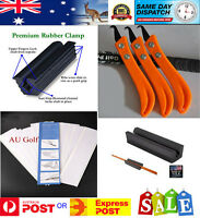 GOLF REPAIR REGRIP KIT- Re Grip Kit - Clamp - Knife - 15 pieces 26 cm Grip Tape