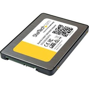 Startech Dual M.2 SATA Adapter with RAID - 2x M.2 SSDs to 2.5in SATA (6Gbps) RAI