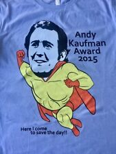 Andy Kaufman T-Shirt Tee T Shirt Elayne Boosler Signed/Unsigned  Limited Edition