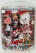 new vintage Bratz 2005 Rock Angelz Yasmin doll missing cd poster miniskirt open