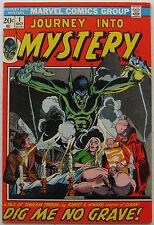 Journey into Mystery #1 (Oct 1972, Marvel), VFN, Robert E. Howard adaptation