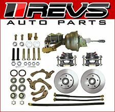 55 56 57 58 CHEVY BELAIR 210 150 COMPLETE FRONT DISC BRAKE CONVERSION KIT NEW