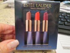 ESTEE LAUDER Travel Exclusive 3 Pure Color Envy Matte Sculpting Lipsticks. NEW