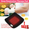 Red Light Infrared LED Therapy Pad Deep Penetration Pain Relief Safe Healing