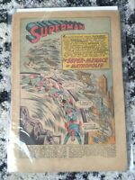 Action Comics #216 **SILVER AGE SUPERMAN** (DC 1956) No Cover