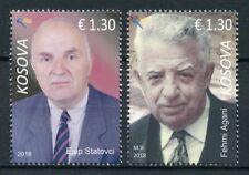 Kosovo 2018 MNH Famous Persons Ejup Statovci Fehmi Agani 2v Set People Stamps