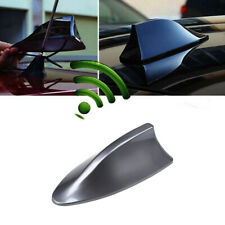 Universal Car Auto Roof Radio AM/FM Shark Fin Style Antenna Aerial Signal Gray