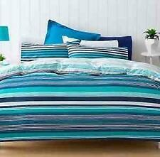 Bedroom Striped Pillow Case Quilt Covers