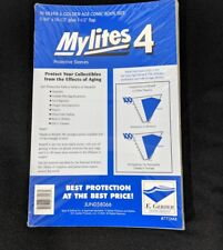 100 E. Gerber Mylites 4 Mil Mylar  Silver & Golden Age Comic Book Sleeves 775M4