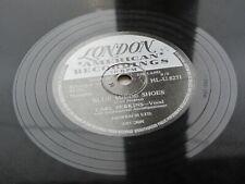 CARL PERKINS   1956  UK 78   BLUE SUEDE SHOES     HONEY DON'T   LONDON HL-U.8271