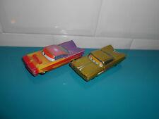 17.10.29.1 Lot 2 Ramone jaune multicolore voiture métal Cars Disney Pixar
