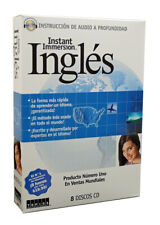 Learn Speak INGLES ENGLISH Language (From Spanish) 8 Audio CDs (listen in car)