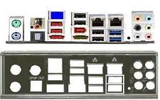 ATX Blende I/O shield Asus P8P67 EVO io OVP NEU #106 backplate bracket new NEU