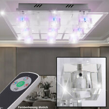 LUXE LED RVB couvrir verre lumière sommeil clients chambre Cube