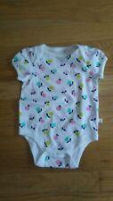 Baby GAP brannan's favorites baby girl's white bodysuit size 3-6 months