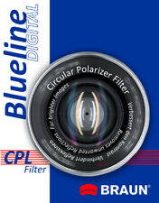 BRAUN Blueline 58mm CPL Camera Filter for Digital Camera