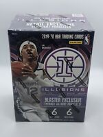 2019-20 Panini Illusions Basketball Blaster Box Sealed - FREE SHIP - Zion? Ja?