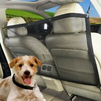 Pet Puppy Dog Barrier Car Back Seat Fence Isolation Net Safety Travel Mesh Guard