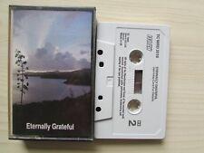 ETERNALLY GRATEFUL GOSPEL CASSETTE, 1984 WORD, LYRICS ON INLAY, TESTED.