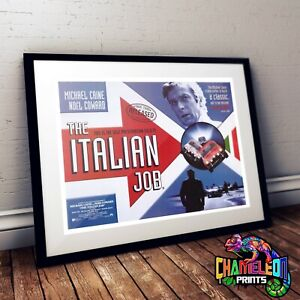 The Italian Job Movie Poster A4 A3 Michael Caine Poster Prints