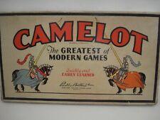Vintage Camelot Board Game  Parker Brothers  1930's  Complete