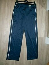 M& S LIMITED EDITION  SIZE 20 short PULL ON HIGH RISE JOGGERS NAVY WHITE