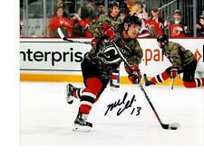 Mike Cammalleri autographed signed 8x10 photo New Jersey Devils COA