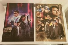 Torchwood 2 no A3 posters of the dr who spin off with captain Jack harkness