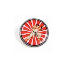 Officiel Street Fighter 2 Ryu Émail Pins Broche Badge / Capcom 16 Bit Classique
