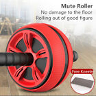 Abdominal AB Roller Wheel Workout Gym Exerciser Muscle Fitness Machine Trainer