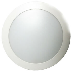 DOWNLIGHT 20W LED ROND BLANC 3000°K 120° IP20/IP44 1550LM