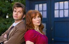 """Dr Doctor Who Imported 17"""" X 11"""" Print Poster - 10th Doctor & Donna Noble"""