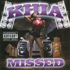 Missed by Khia (CD, Apr-2010, Modulor)