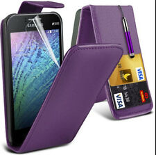 Purple Samsung Galaxy S3 i9300 S3 Slim Wallet Cover Credit Flip Pouch Case