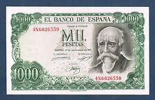 BILLET de BANQUE D'ESPAGNE 1000 PESETAS Pick n°154 du 17-9-1971 en SPL 4N6026559